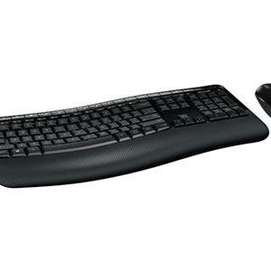 Microsoft Wireless Comfort Desktop 5050 - keyboard and mouse set